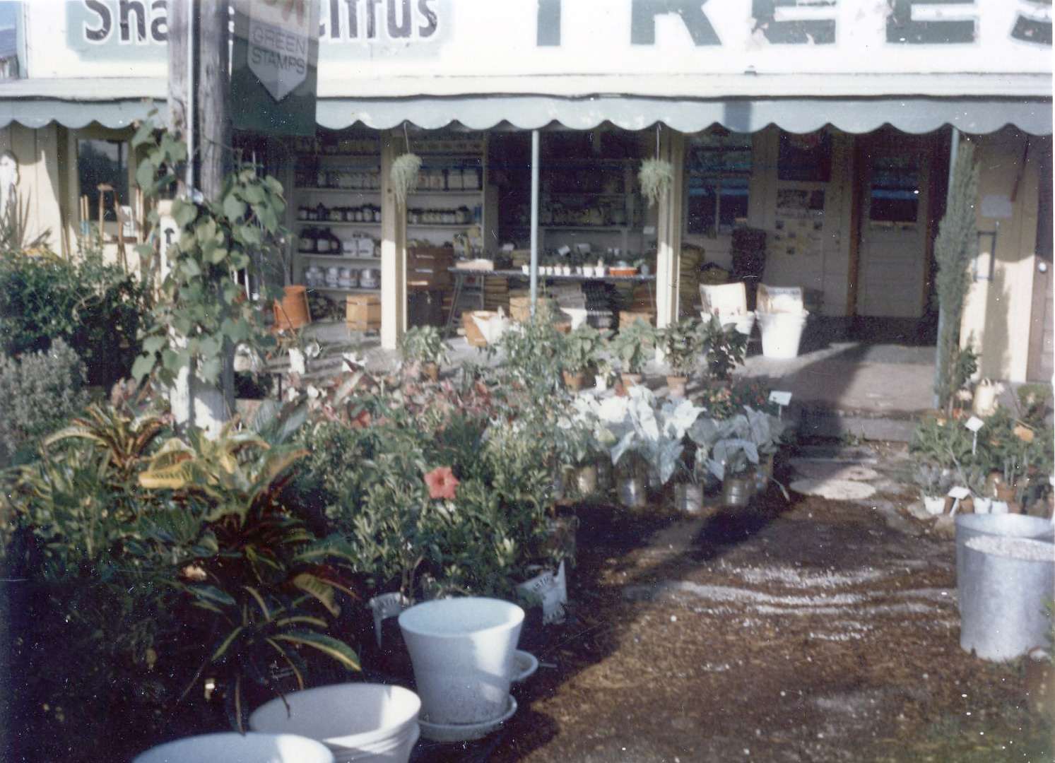 early Rockledge Gardens storefront