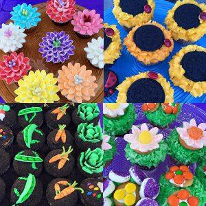 dragonfly treats cupcakes